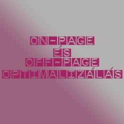on-page optimalizálás